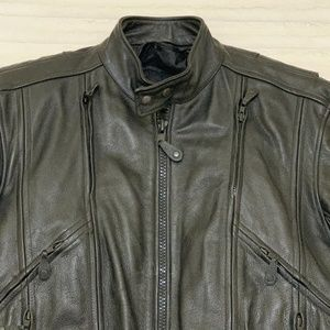 First Gear Jackets & Coats - First Gear Classic Leather Jacket